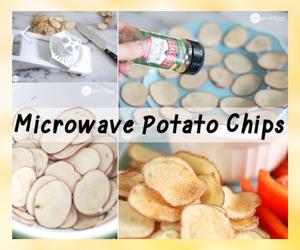 cockinginspirations, diy crisps, and gesunde diy chips image