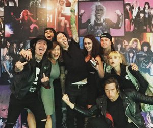 cc, black veil brides, and jake pitts image