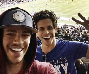 grant gustin and kyle harris image