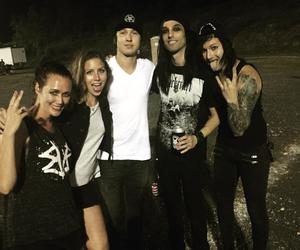 cc, black veil brides, and christian coma image