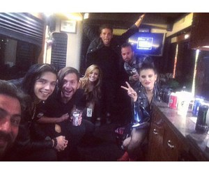juliet simms, black veil brides, and andy biersack image
