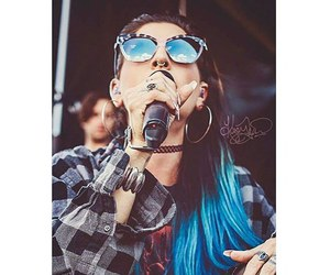 blue hair, fashion, and juliet simms image