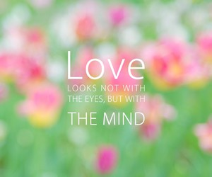 love, mind, and quotes image