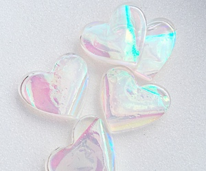 hearts and hologram image