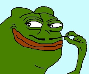 pepe, funny, and frog image