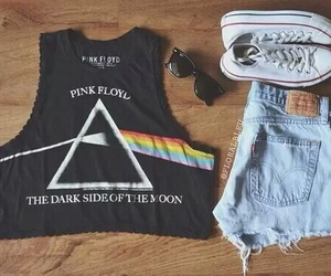 fashion, outfit, and Pink Floyd image