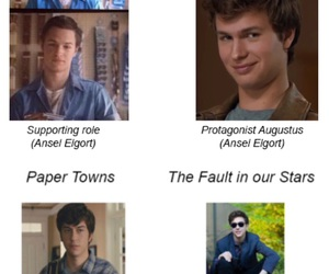 paper towns, nat wolff, and the fault in our stars image