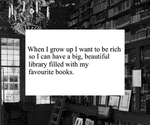 books, library, and home image