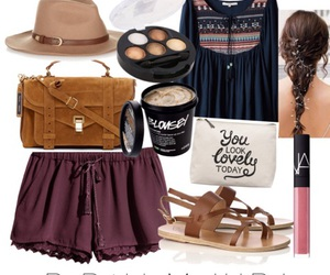 blouse, braid, and coachella image