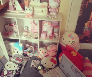 collection, hello kitty, and pink image