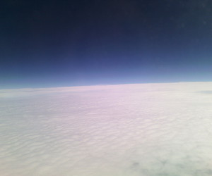 blue sky, clouds, and up image
