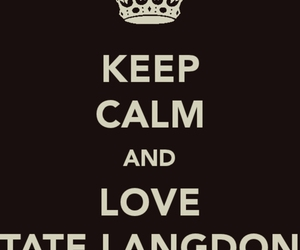 american horror story, tate, and tate langdon image