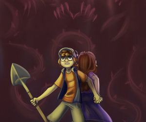 pines, mabel, and dipper image