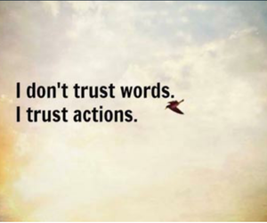 Action, quote, and love image