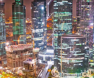 moscow, night, and nightcity image