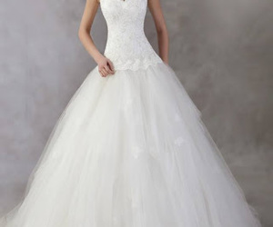 wedding dress and brides image