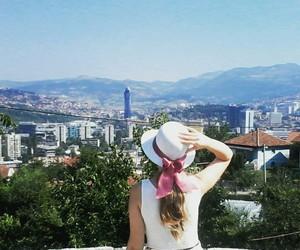 beautiful, city, and girl image