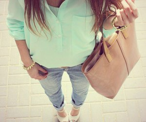 girl, style, and look image