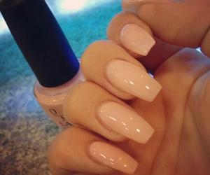 girl, opi, and nails image