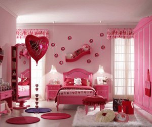 pink, hello kitty, and room image