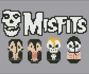 music, the misfits, and horror punk image