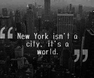 city, world, and new york image