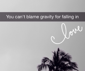 black, gravity, and quotes image