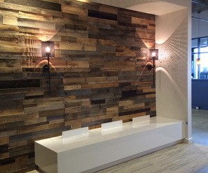 reclaimed wood pallets and diy barn wood projects image