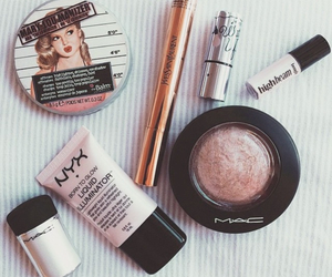 benefit, mac, and style image