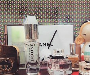gucci, Harajuku Lovers, and perfume image