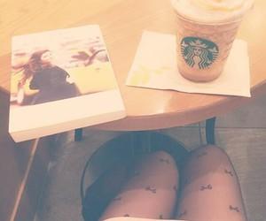cafe, starbucks, and coffeeshop image