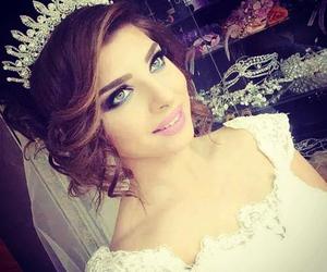 wedding, accessories, and bride image