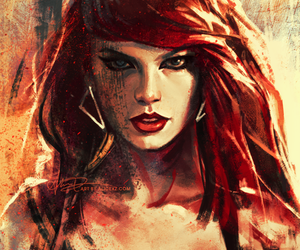 Taylor Swift, 1989, and bad blood image