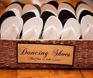 wedding and dancing shoes image