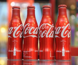 coca-cola, cool, and drink image