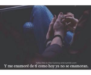 desamor, triste, and amor image