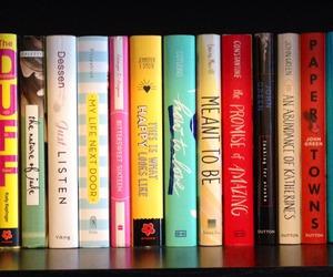 books, bookshelf, and love it image