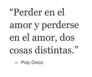 amor, poly cinco, and frases image