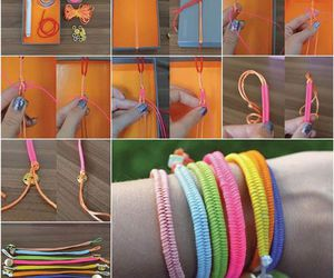 bracelet, braid, and diy image