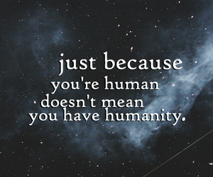 humanity, human, and stars image