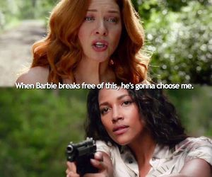 rachelle lefevre, under the dome, and kylie bunbury image