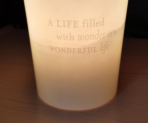 candle, quote, and smell image