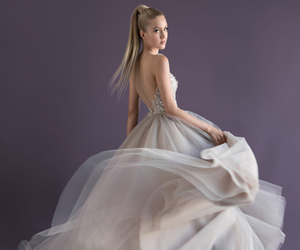 bridal, bride, and fashion image