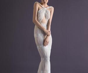 bridal, bride, and fashion image