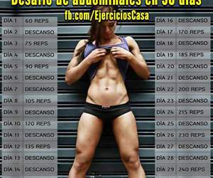 abdomen, gym, and ejercicio image