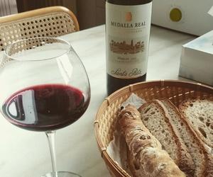 bread, vin, and delicious image