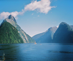 fjord, milford sound, and natural image