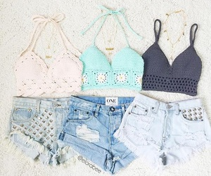 summer, fashion, and clothes image