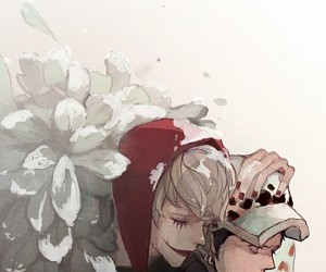 anime, one piece, and corazon image