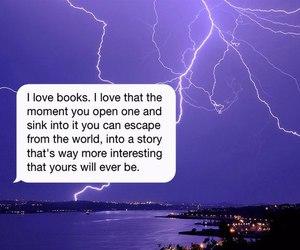 i love books and true image